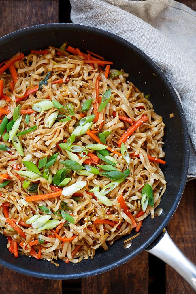 Photo of Fried Asian noodles (20 minutes!) – carousel