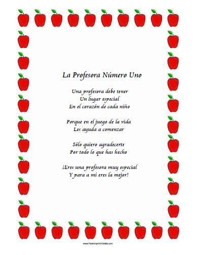 10 Hermosos Poemas De Despedidas Para Maestros Imágenes De