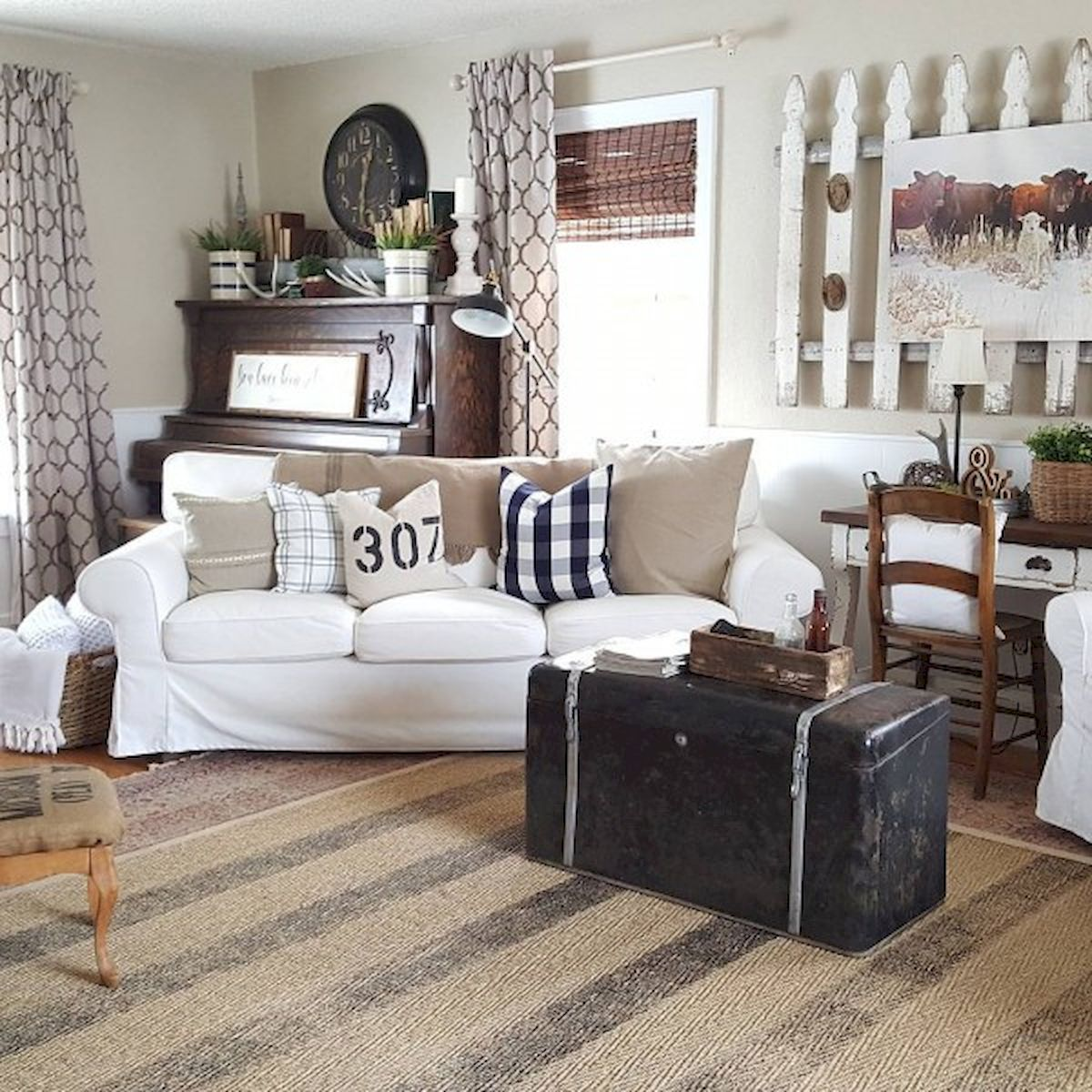 Pin by Tammy Walker on living rooms Rustic farmhouse