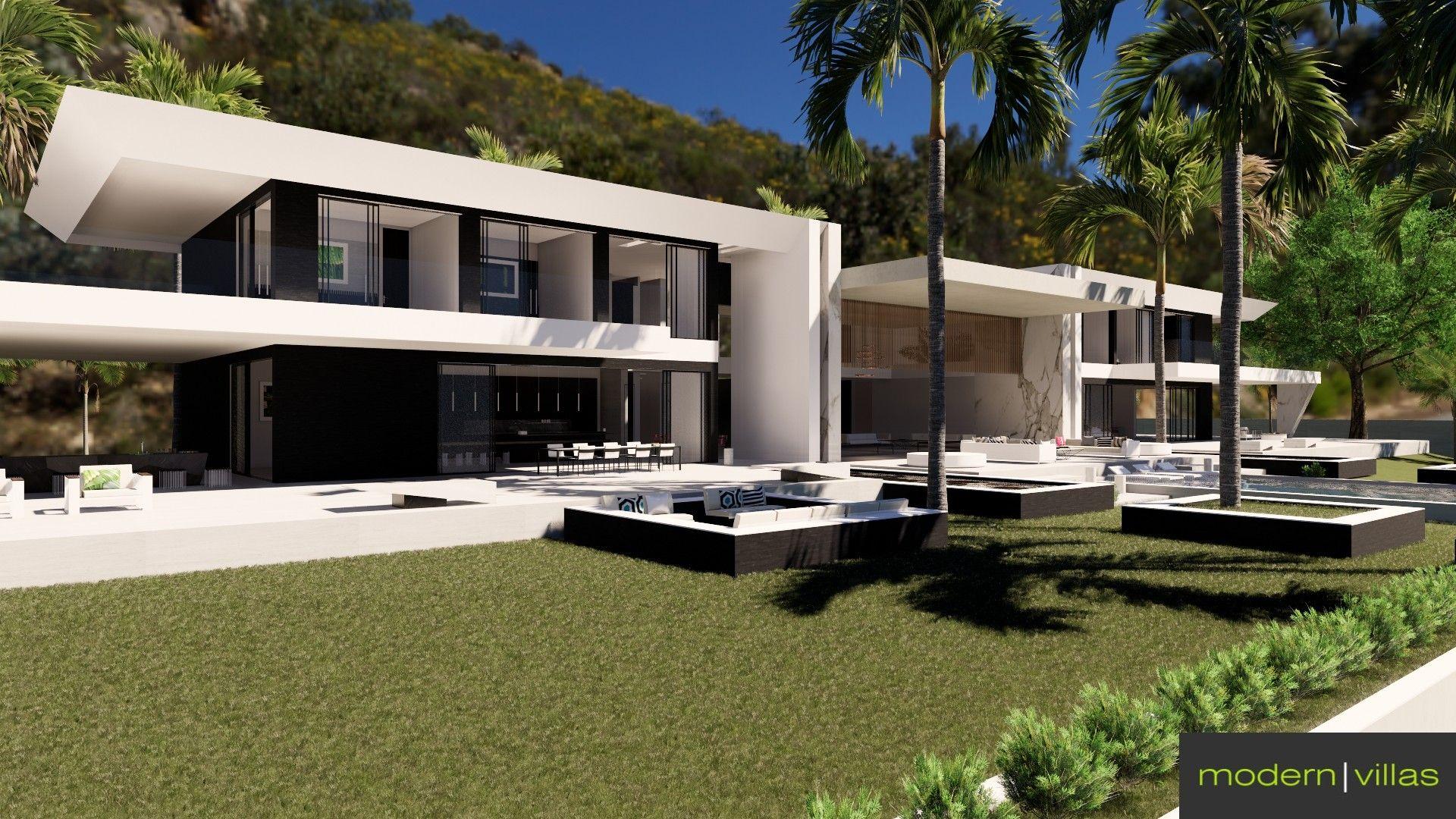 Modern Villa Marbella Club Modern Villas Marbella Property Marbella Club Villa