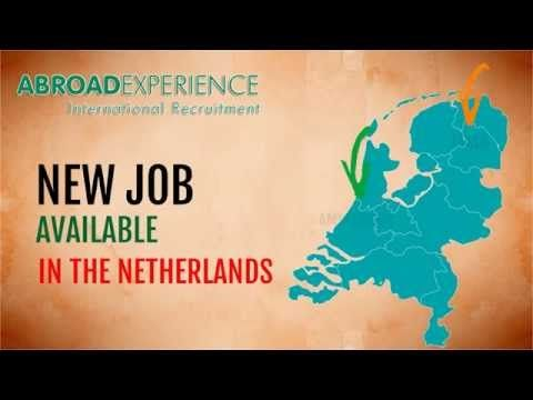 Jobs in the Netherlands - International Recruitment Consultant - YouTube