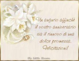 Felice Anniversario Matrimonio Dediche E Cartoline Anniversario Buon Anniversario Felice Anniversario