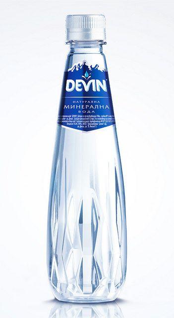 Devin Crystal Line Bottle By Pet Engineering Water Bottle Label Design Bottle Design Packaging Water Bottle Design