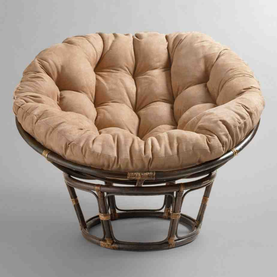 replacement papasan chair cushion sideline chairs for basketball double living room inspiration