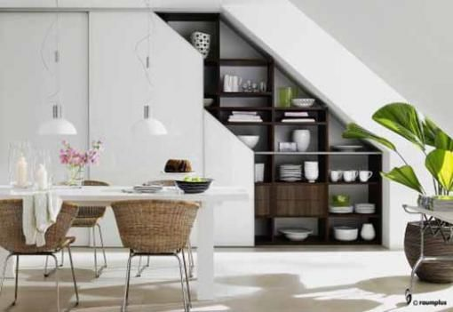 A Great Idea For Under Stair Crockery Cabinet Stairs In Kitchen
