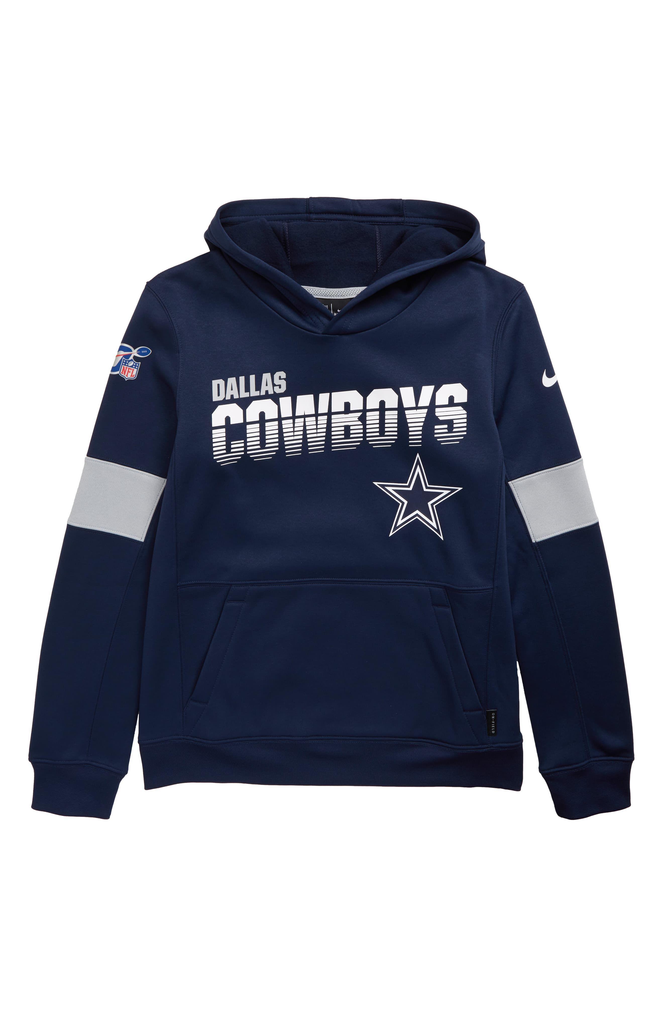 Nike Nfl Logo Dallas Cowboys Therma Hoodie Big Boys Nordstrom Dallas Cowboys Nfl Logo Nike Nfl [ 4048 x 2640 Pixel ]