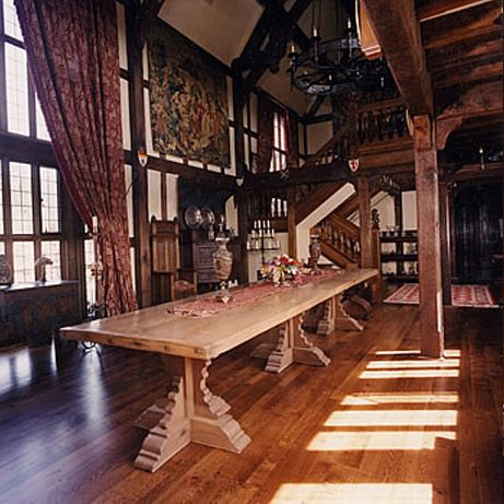 English Country Style House Interiors | Early English Style Manor ...