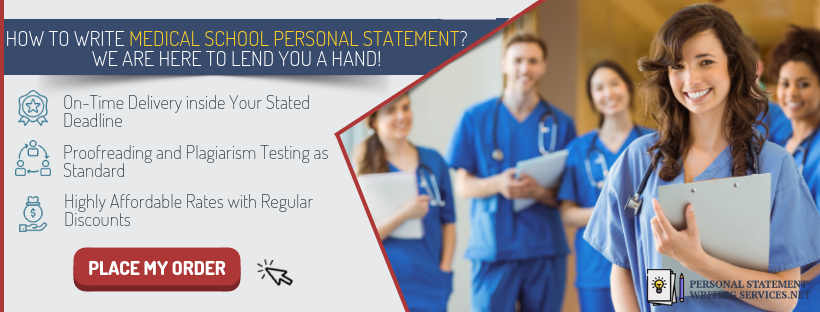 Medical school personal statement editing services
