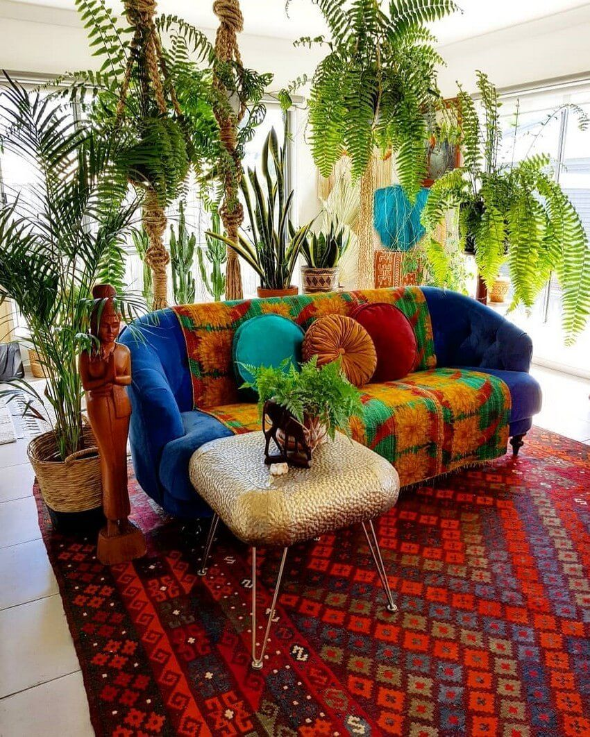 Ideas For Boho Style Interior Decor Design Living Style Ideas
