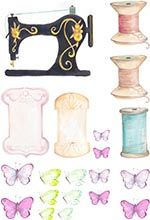 Friday's Guest Freebies ~ Paper Craft Inspiration ✿ Follow the Free Digital Scrapbook board for daily freebies: https://www.pinterest.com/sherylcsjohnson/free-digital-scrapbook/ ✿ Visit GrannyEnchanted.Com for thousands of digital scrapbook freebies. ✿ Vintage Sewing printables 155