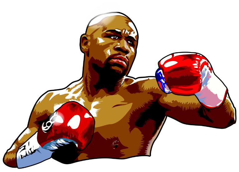 Cartoon For Floyd Mayweather Fans Www Wecartoon Com Floydmayweather Boxing Wbc Wba Cartoon Floyd Mayweather Sports Celebrities Floyd
