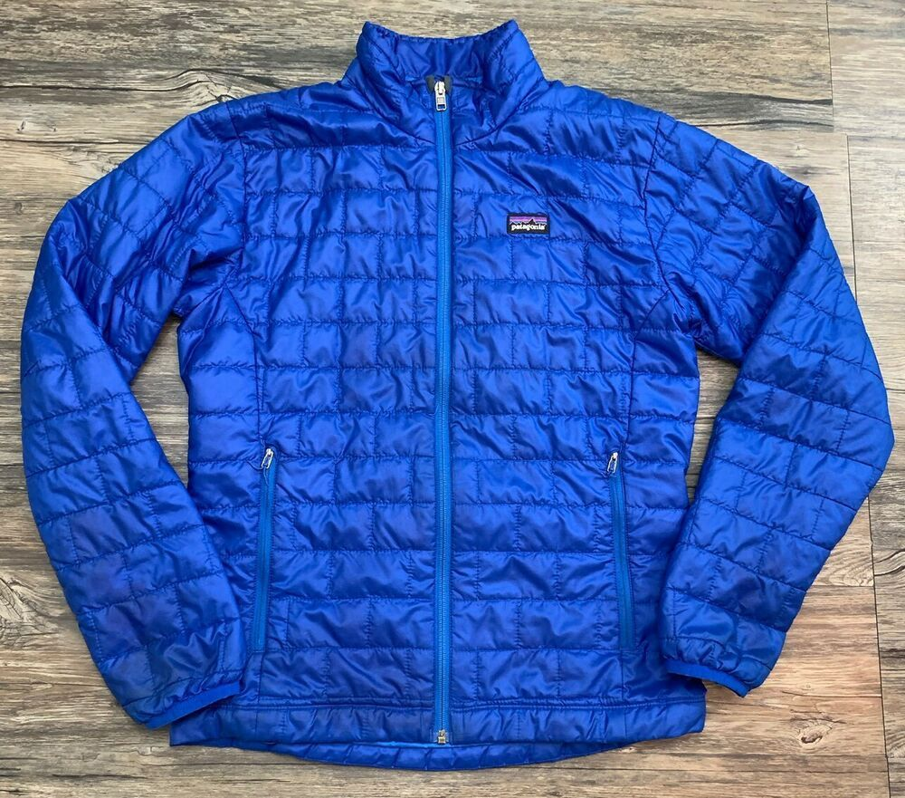 Details about Patagonia Goose Down Puffer Puffy Full Zip