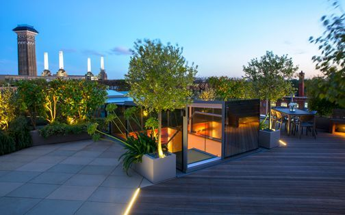 leading roof terrace design company london Alberca Pinterest - Garden Design Company