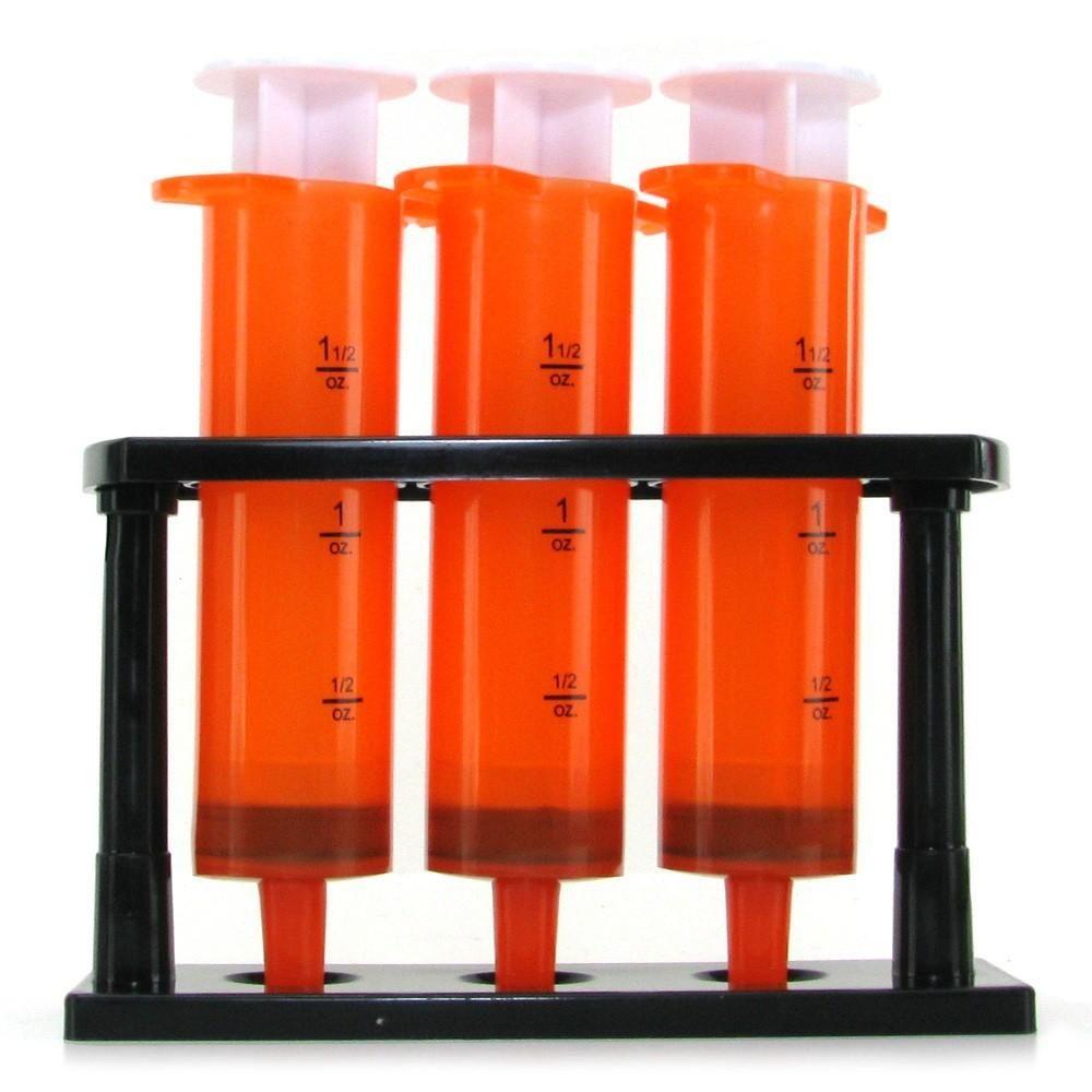 (wd) Orange Syringe Shooter Drinking accessories