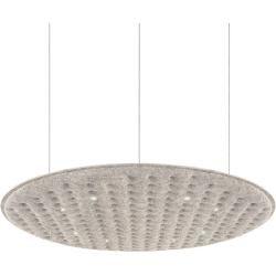 Nimbus Lighting Pad R 600 pendant light without indirect component 400cm gray extra warm white (2700 ° K)