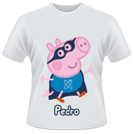 Camiseta Personalizada Peppa Pig  610e8282b0790