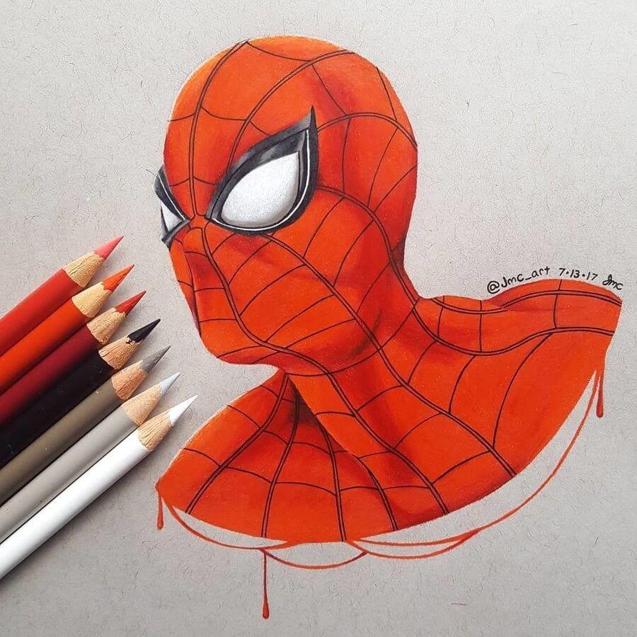 Movie Animation Pencil Drawings Spiderman Painting Marvel Drawings Drawings