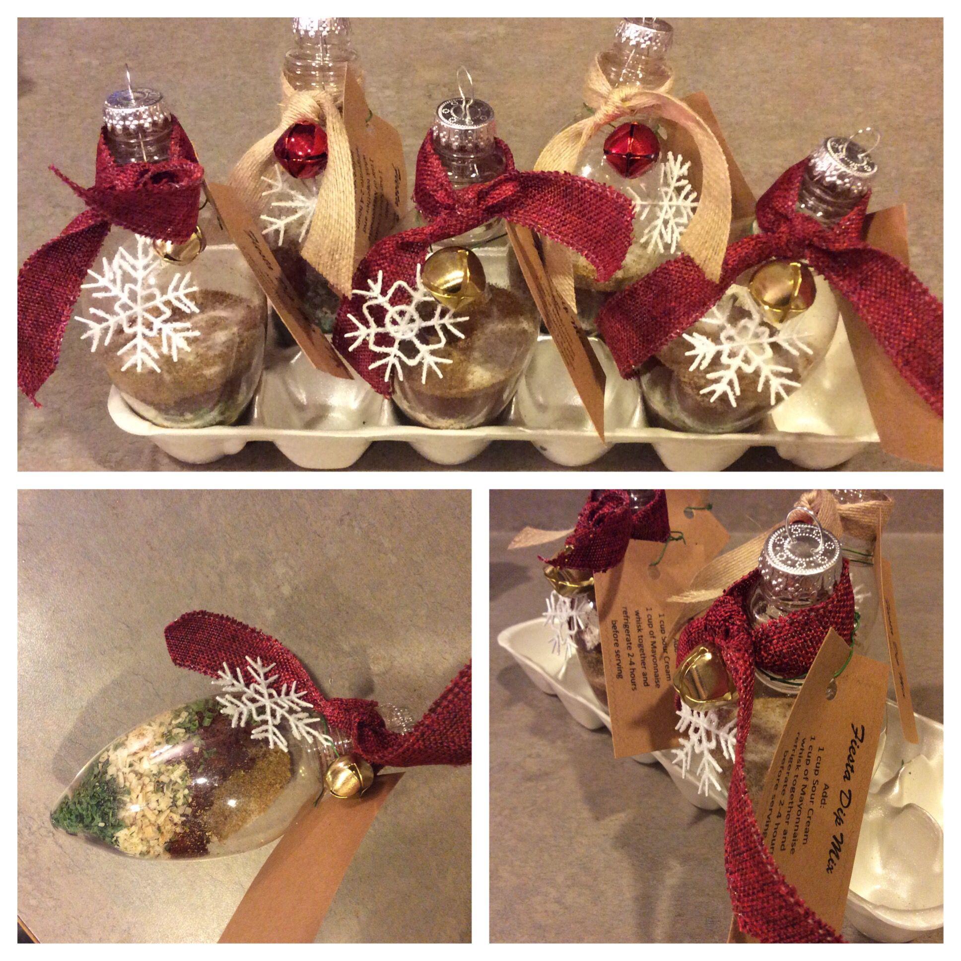 Dip mix ornaments.   Weihnachten   Pinterest   Weihnachten