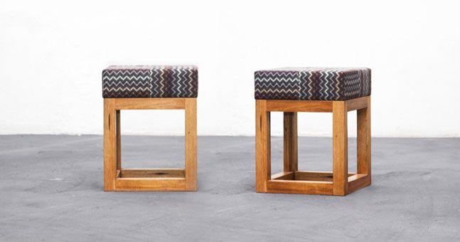 Banquitos de madera modernos buscar con google muebles - Muebles de madera modernos ...