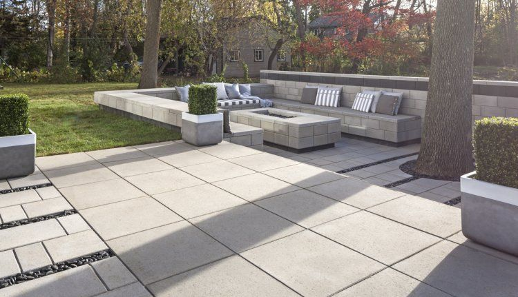 Industria Slab Techo Bloc Patio Slabs Patio Concrete Yard