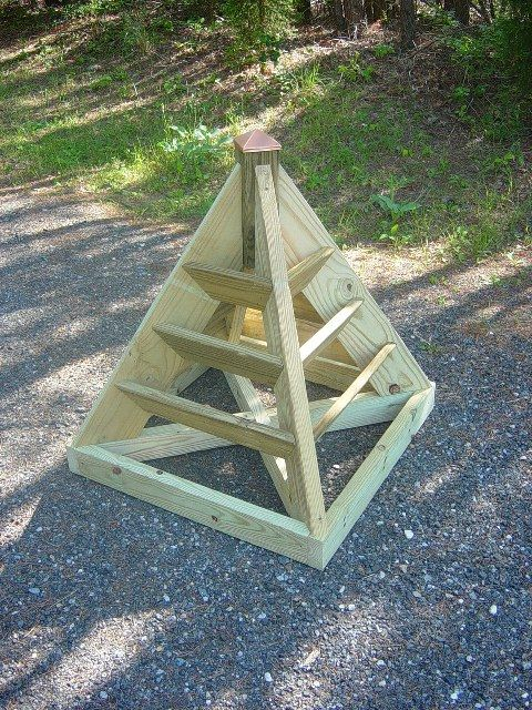 How To Build Pyramid Planters 2 Sizes Perfect For Strawberries Herbs Great In Small Es