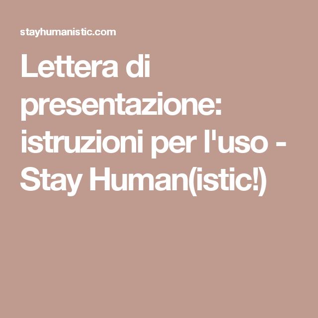 Scopri Come Scrivere Una Lettera Di Presentazione Professionale Ed Efficace Lettera Di Presentazione Lettera Presentazione