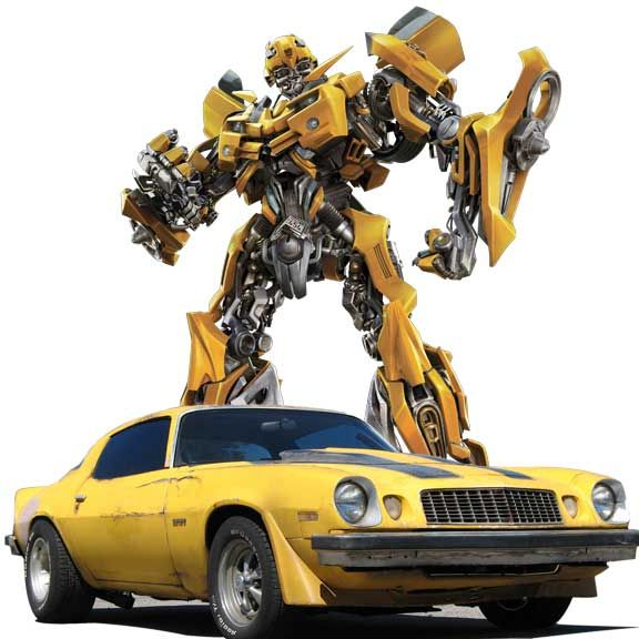 Bumblebee Camaro  2007 Transformers The Hollywood Star Cars