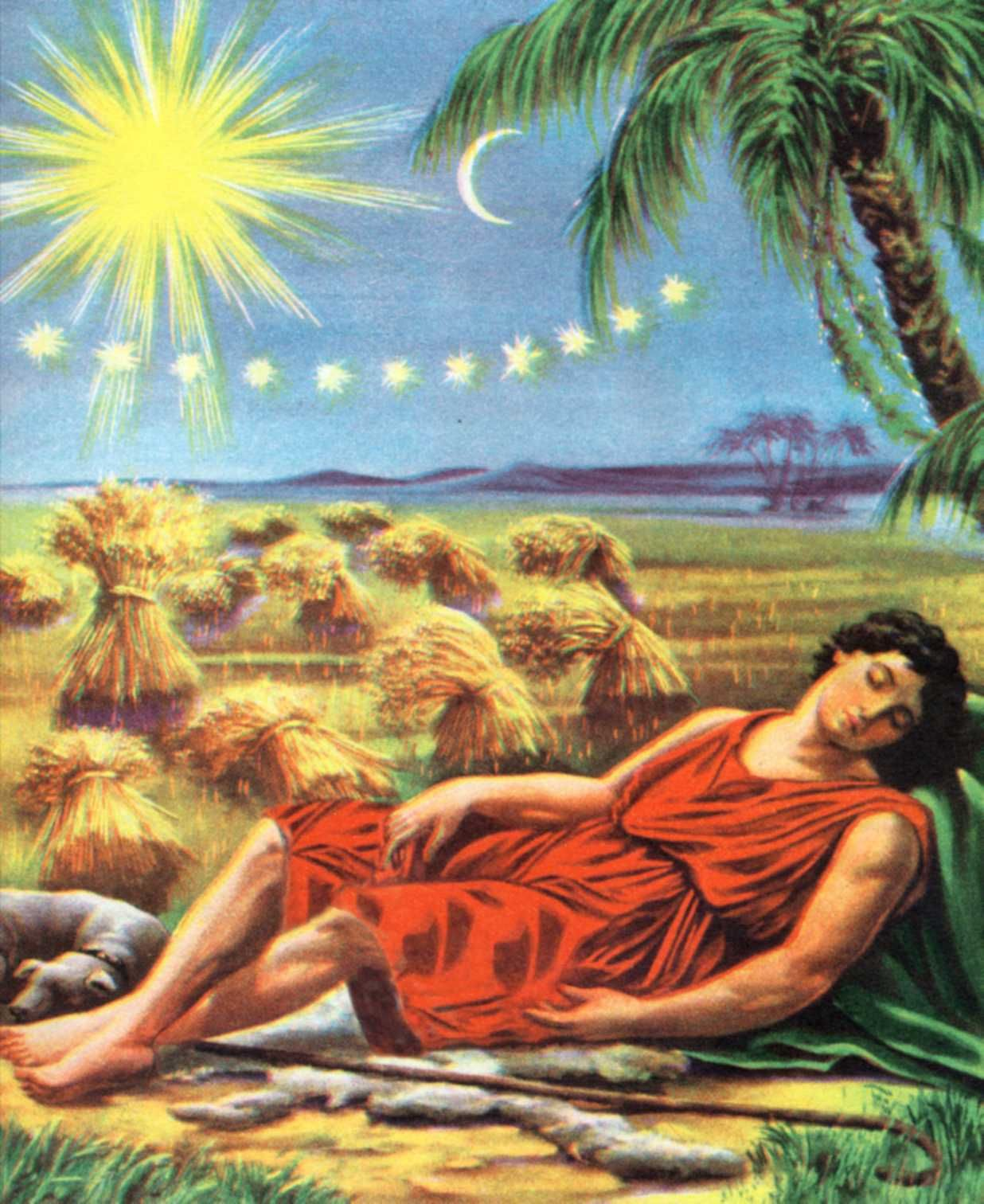 joseph had a dream and when he told it to his brothers