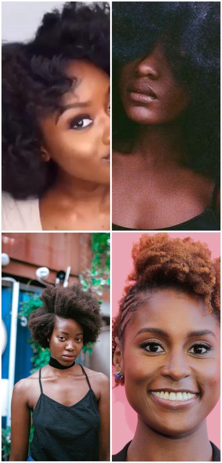 Inspiration naturelle des cheveux | Photographie de portrait | Boucles de type 4 | Cheveux 4c... In