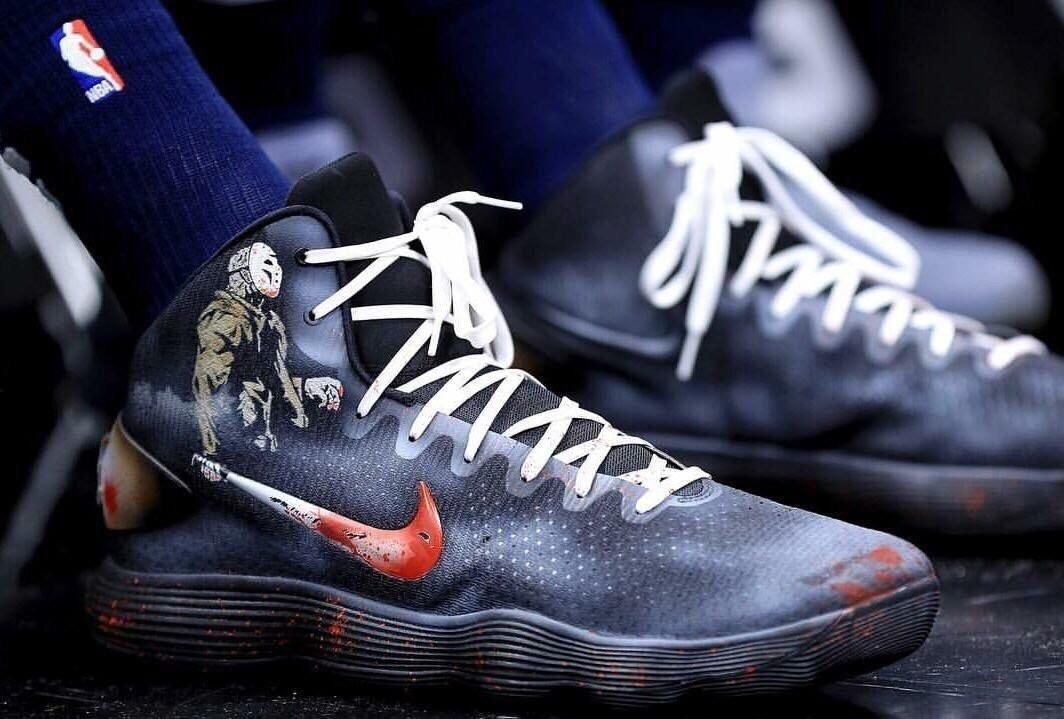 Karl Anthony Towns again with the . Halloween edition