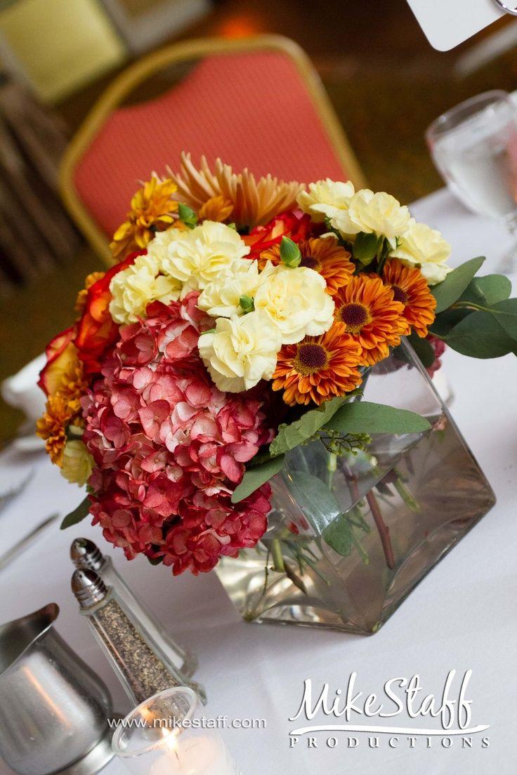 Fall wedding reception decor  weddingreceptiondecorationscenterpiecestablescapesreception