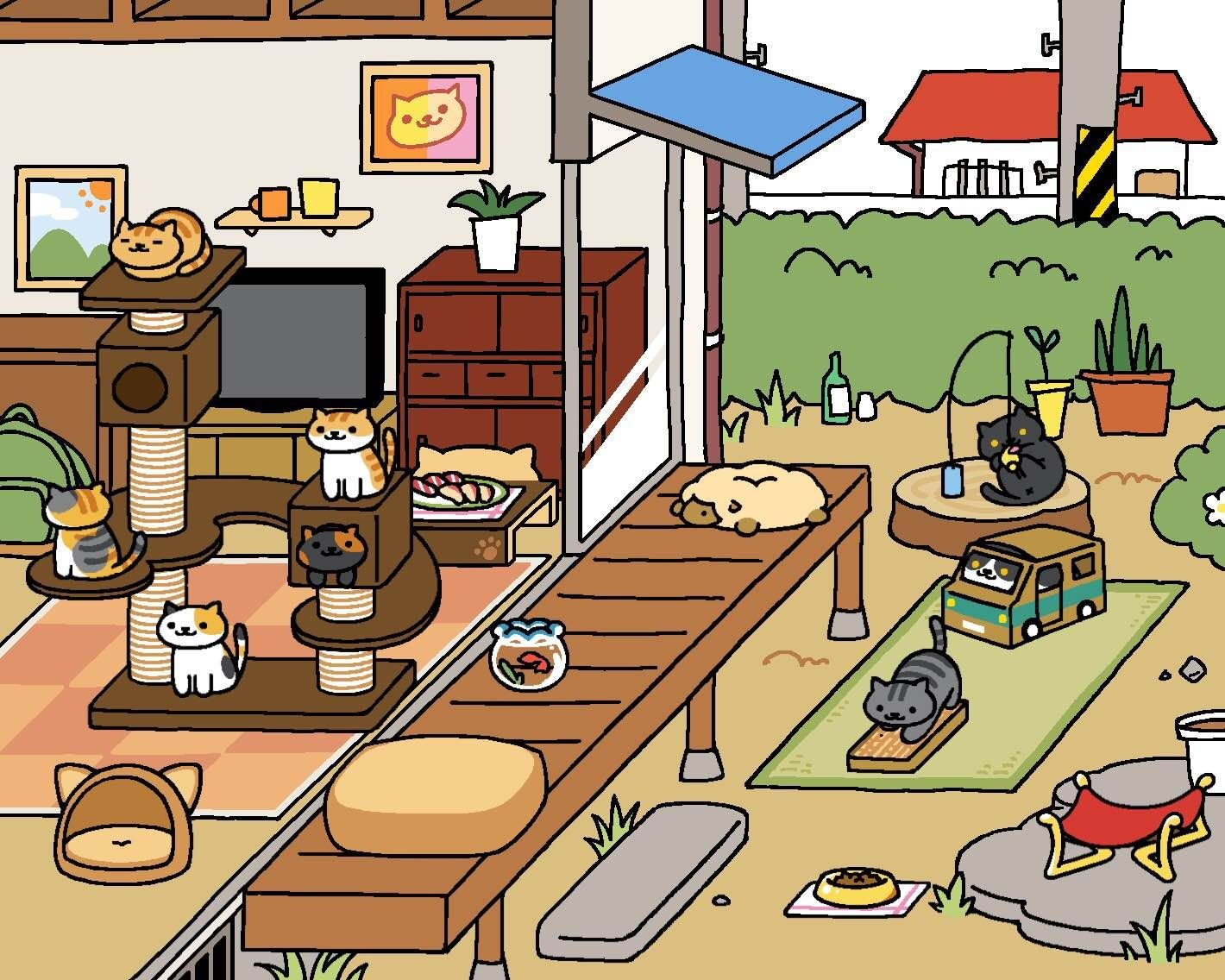 This Adorable Japanese Cat Game Is Everywhere And We Tried to ...
