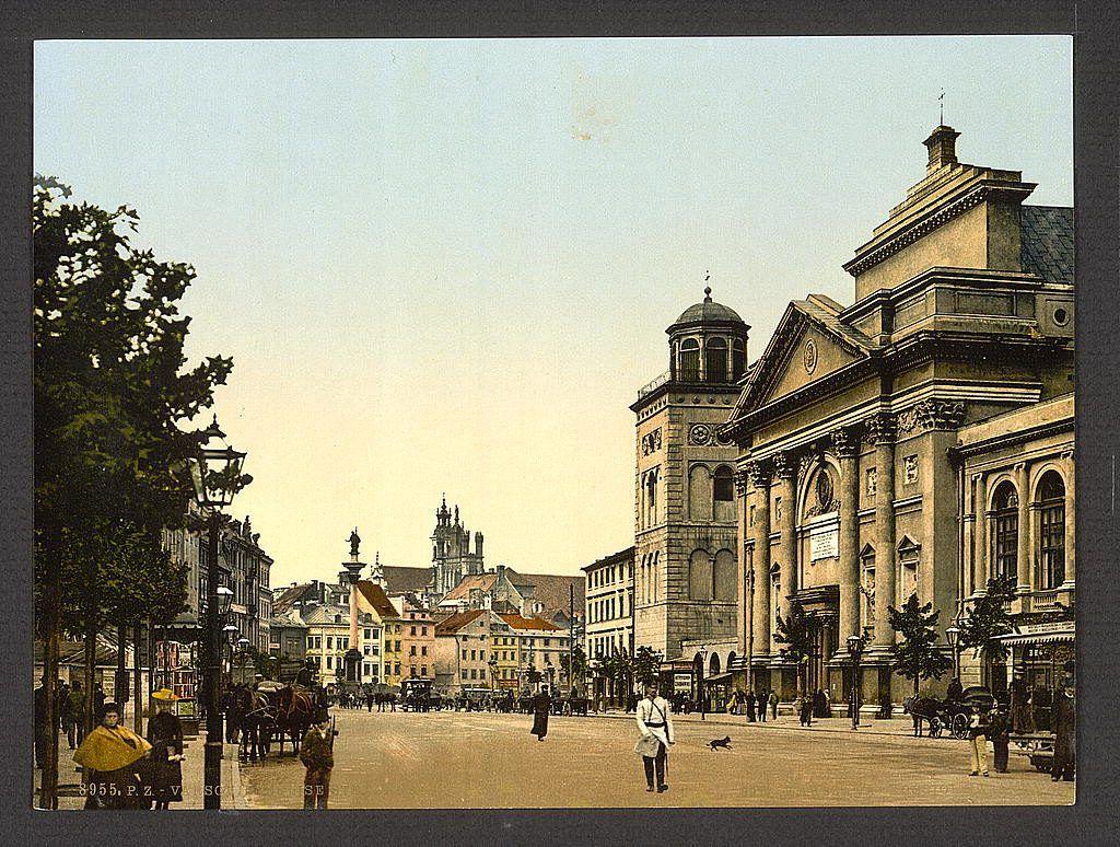 Przepiękne, kolorowe pocztówki z przedwojennej Warszawy | Warszawa W Pigułce