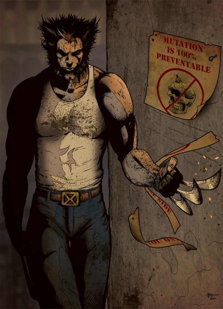 Wolverine by Bobby Esckelson