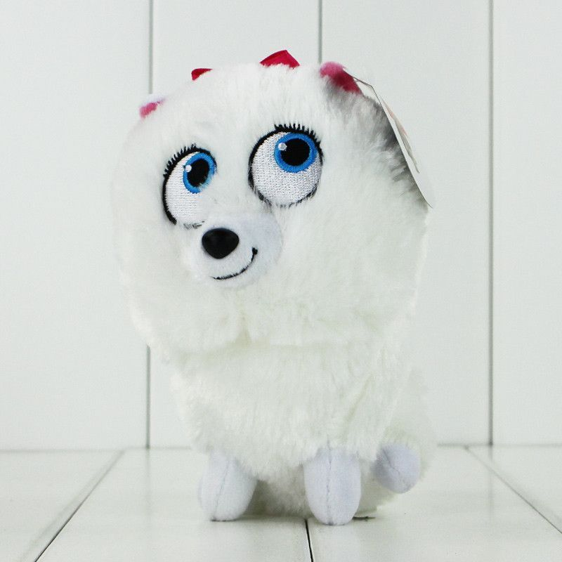 12 25cm The Secret Life Of Pets Plush Toys Max Snowball Gidget Mel