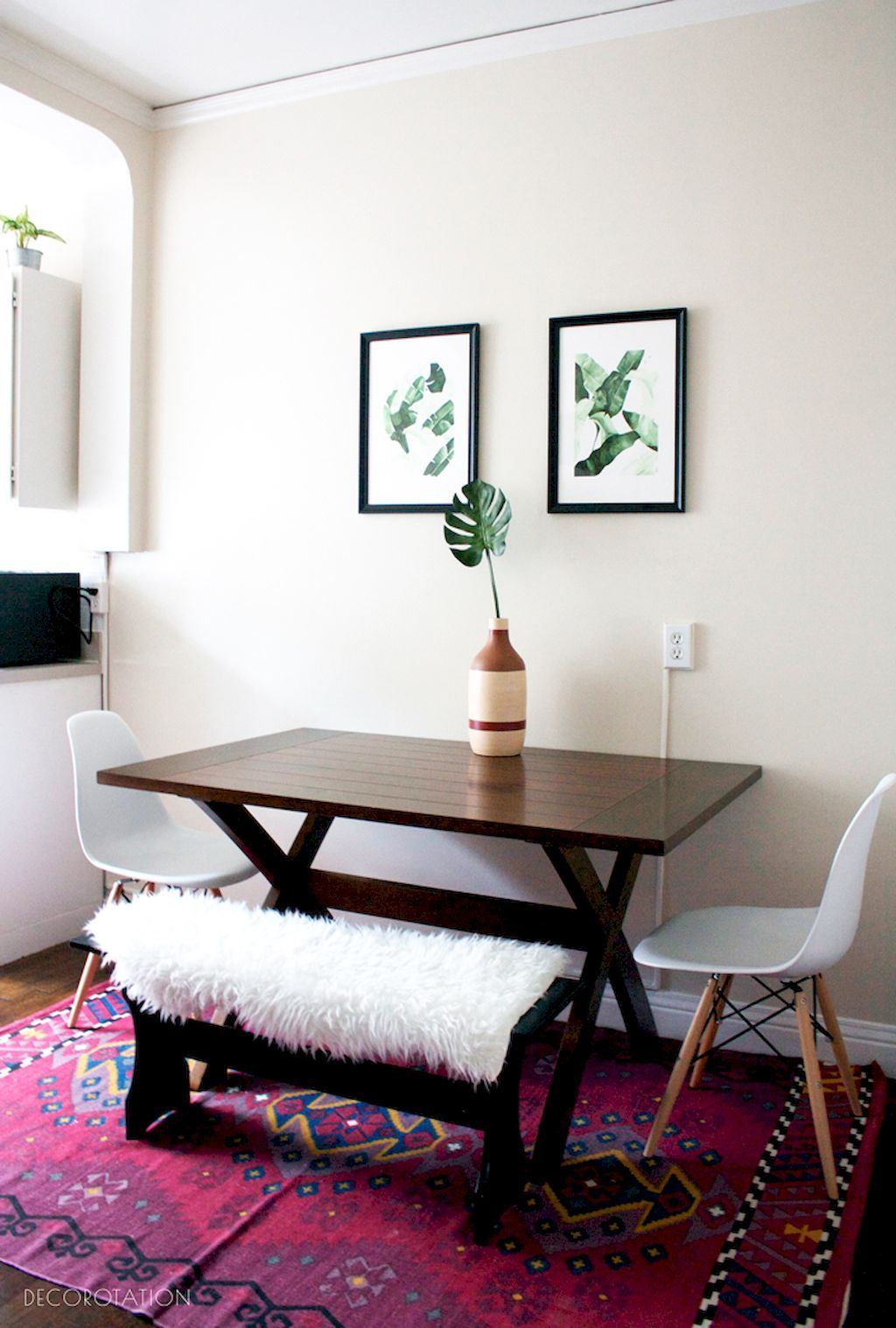 85 Gorgeous Small Dining Room Decorating Ideas  Small Dining Beauteous Dining Room Apartment Ideas Design Ideas