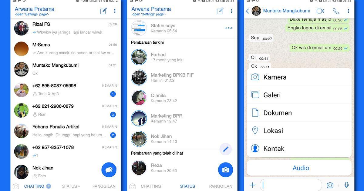 Download Whatsapp Mod Iphone X Ios 12 Apk Versi Terbaru 2019 Iphone Emojis On Android Themes App Iphone Style