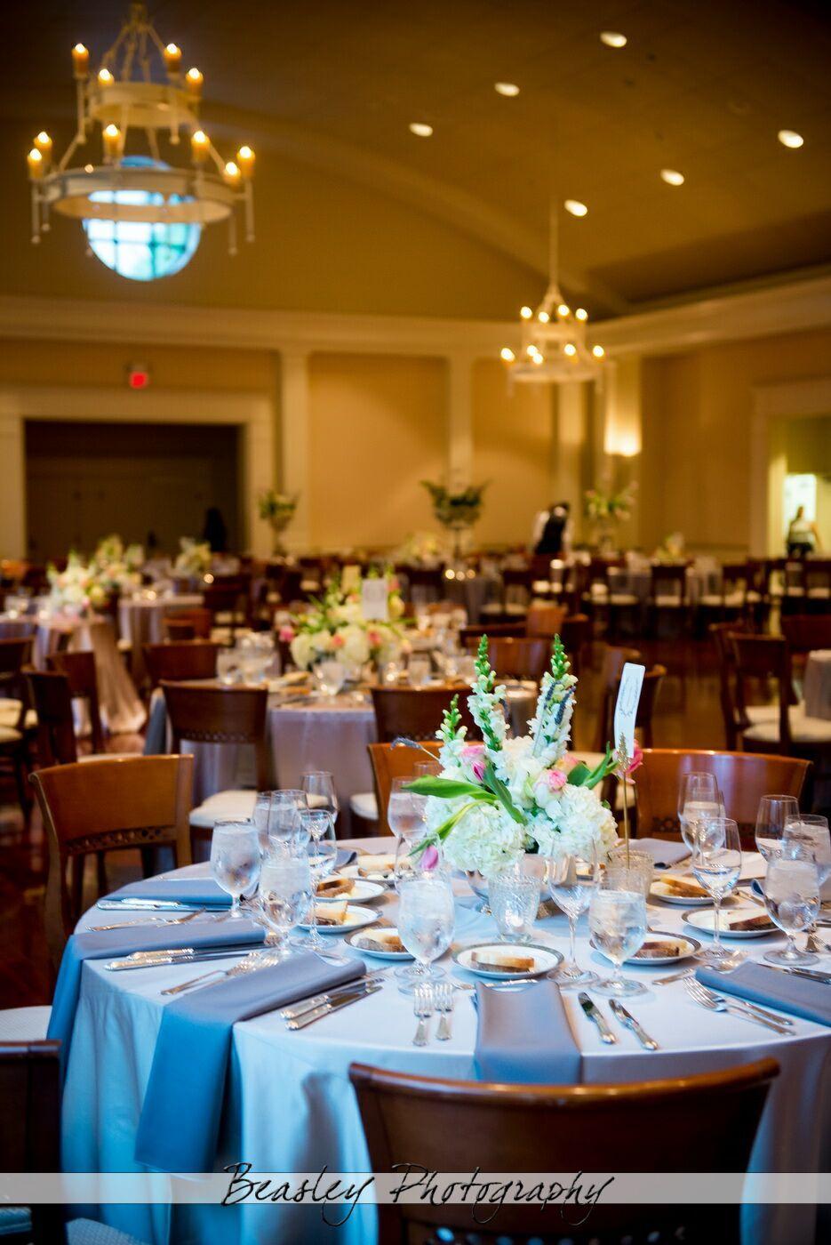Reception at swan house wedding atlanta photo