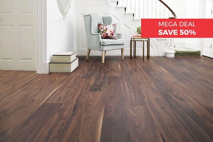 Aqualock 12mm Laminate Flooring Autumn Haze Oak Flooring