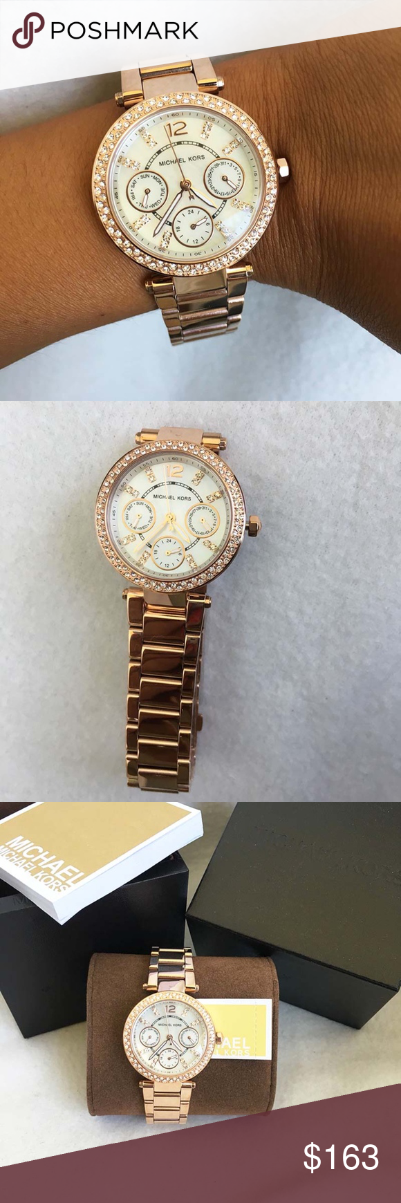 ce3ecef2af0a New  amp  Authentic Michael Kors Women s Watch MK5616 100% Authentic and  Brand New in