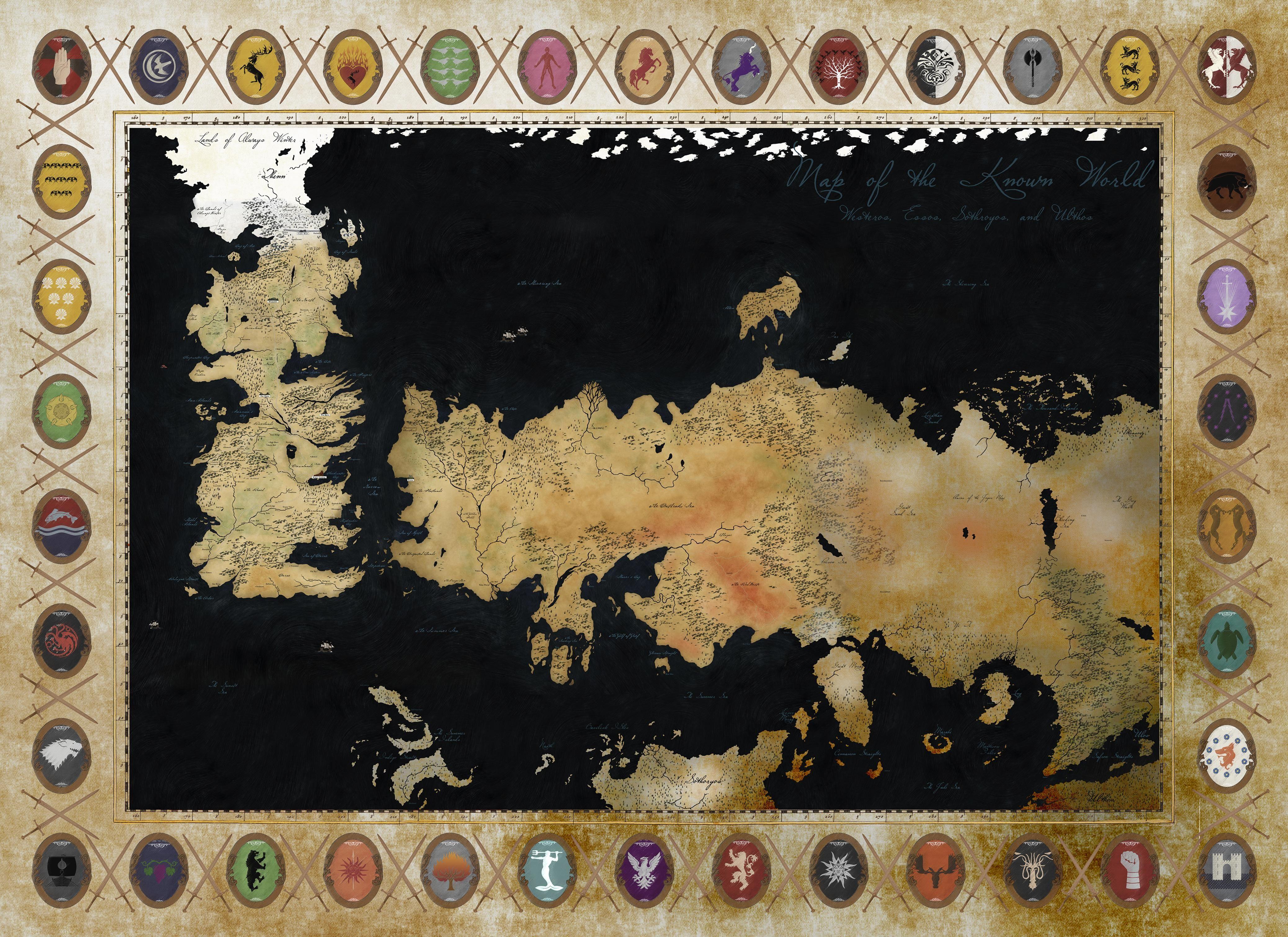 game of thrones full map pdf
