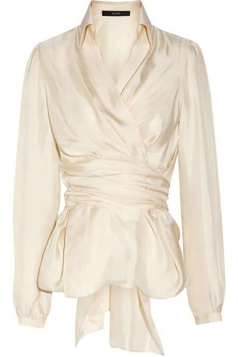 Elegant and Modern Wrap Blouse: The Latest Collection by Etro ...