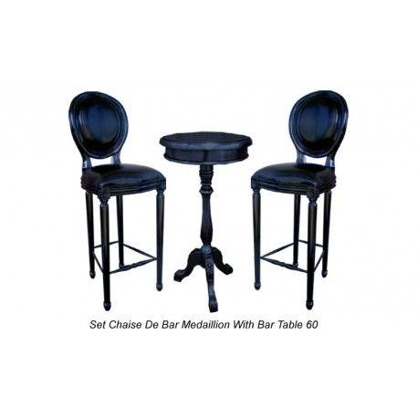 Tabouret de bar de style médaillon http://www.deco-prive.com/bars-et-tabourets-/2400-tabouret-de-bar-de-style-m%C3%A9daillon.html #decoprivé #décoration #maison
