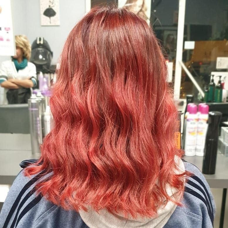 #hairstyles #hairstylesforgirls #haircolor #haircolorideas #redhair