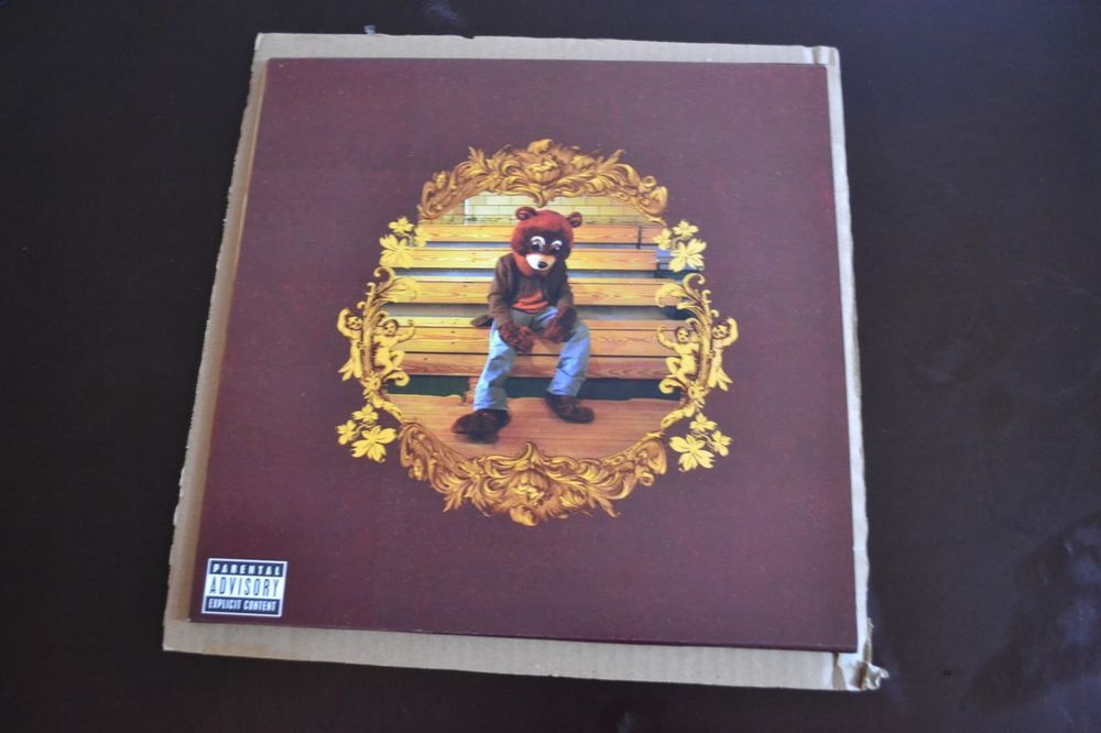 Kanye West The College Dropout 2004 2xlp Vinyl Record Rap Hip Hop Vinyl Music Vinyl Records Rap