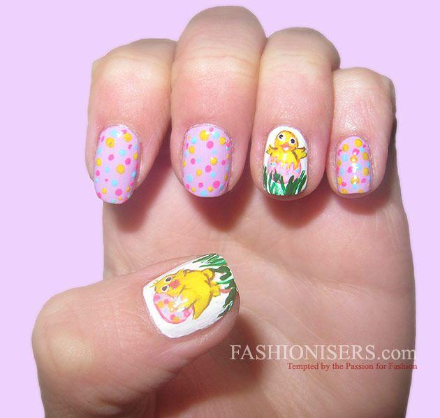 14 Cute Easter Nail Art Designs - 14 Cute Easter Nail Art Designs Easter Nail Art, Easter Nails And
