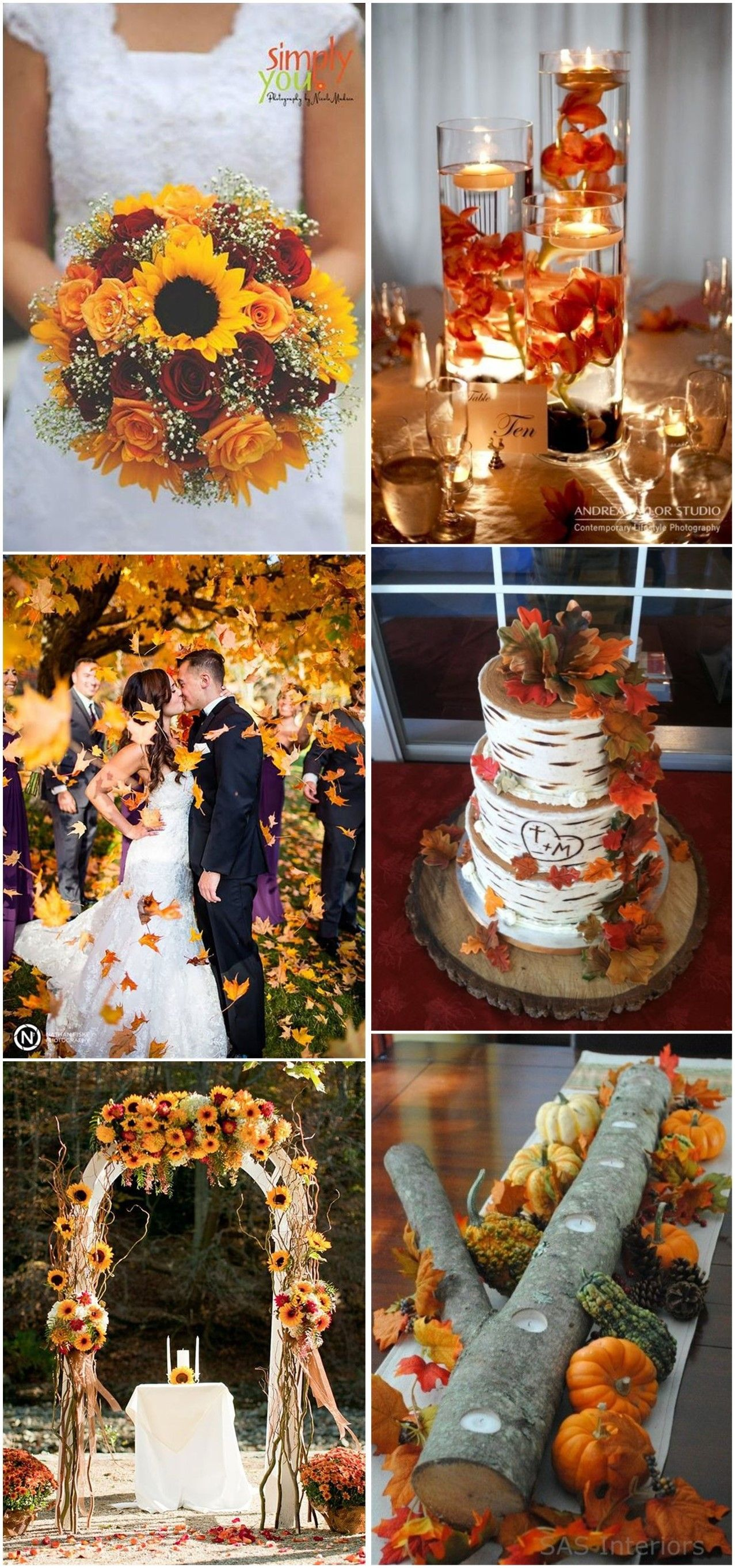 Best Fall Wedding Ideas in   country wedding  Pinterest