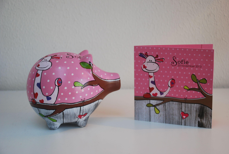 Mooi spaarvarken voor een lief klein meisje spaarvarken pinterest