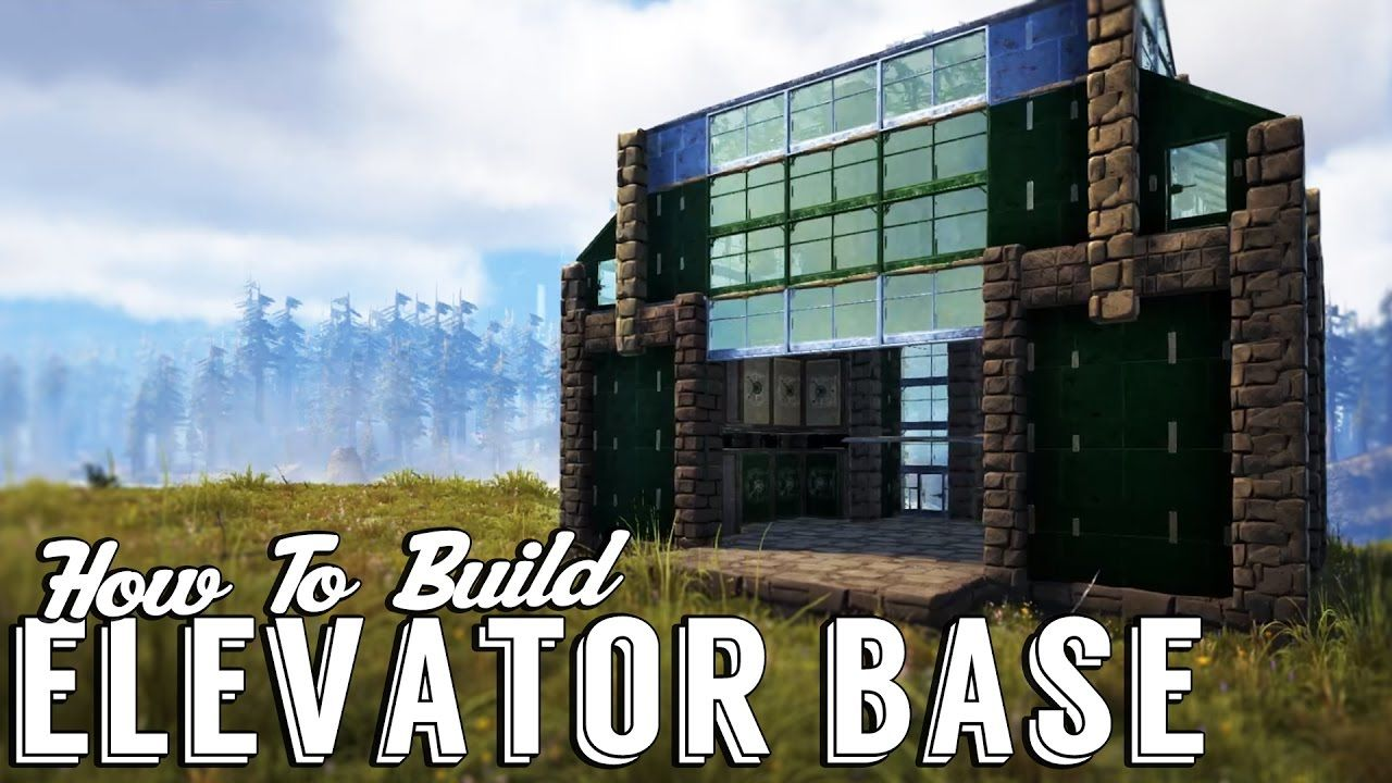 Ark Elevator Workshop Build Guide Elevator Base