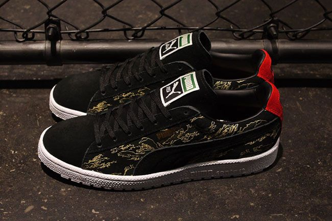 "premium selection d75f4 268bf SBTG x Mita Sneakers x Puma Clyde Contact ""First Contact ..."